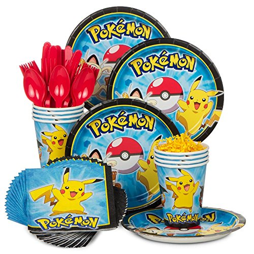 kit anniversaire pokemon pour 8 personnes vaisselle jetable pokemon. Black Bedroom Furniture Sets. Home Design Ideas