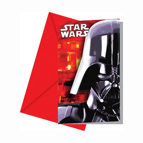 cartes invitation star wars