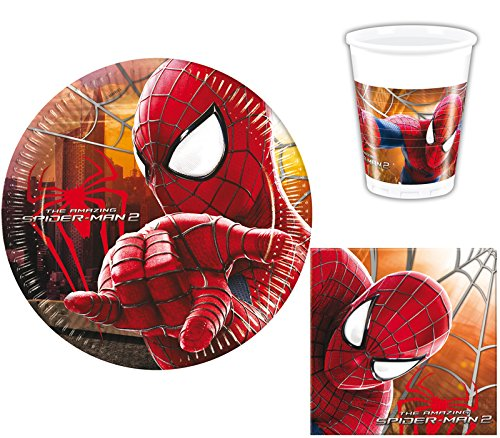 kit anniversaire amazing spiderman 2