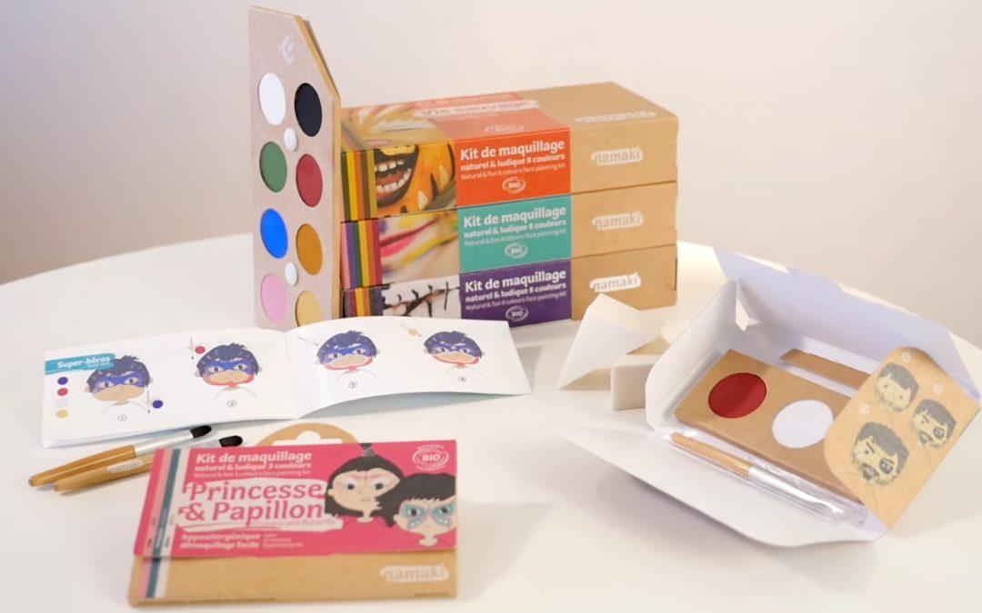Namaki, le maquillage pour les enfants certifié BIO