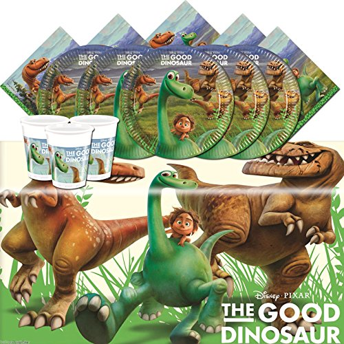 Kit anniversaire Voyage d'Arlo pour 16 personnes, anniversaire dinosaure