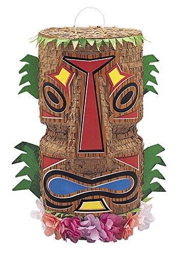 Piñata Tiki pour anniversaire hawai