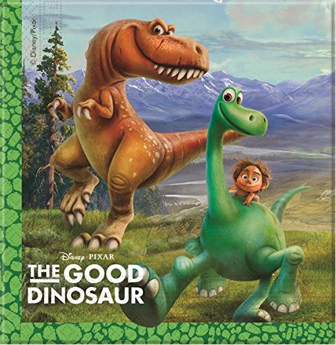 20 Serviettes Le Voyage d'Arlo, anniversaire dinosaure