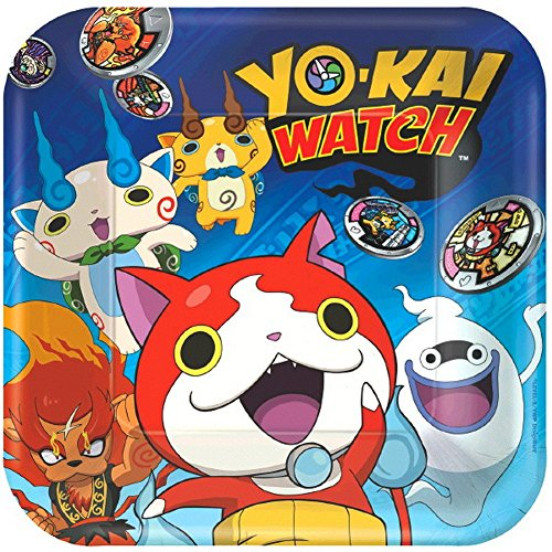 Assiettes Yokai Watch