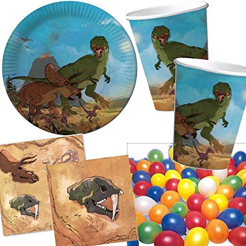 Kit anniversaire dinosaures tyrannosaure