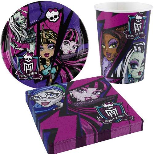 Kit anniversaire Monster High pour gôuter d'anniversaire filles