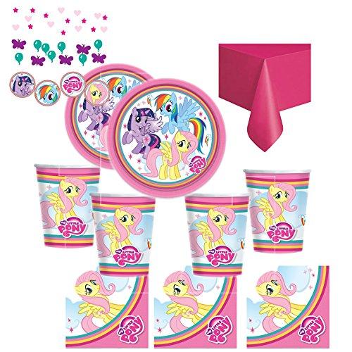 Kit anniversaire My Little Pony pour 16 enfants