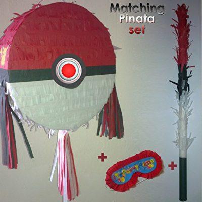 Piñata Pokemon ballon rond Poké Ball