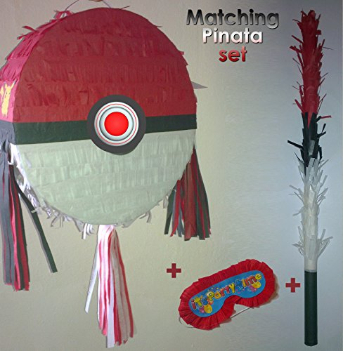 Piñata Pokemon ballon rond Poké Ball