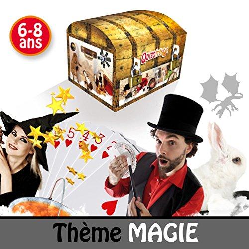 Chasse au trésor thème Magie - enfants 6 à 8 ans