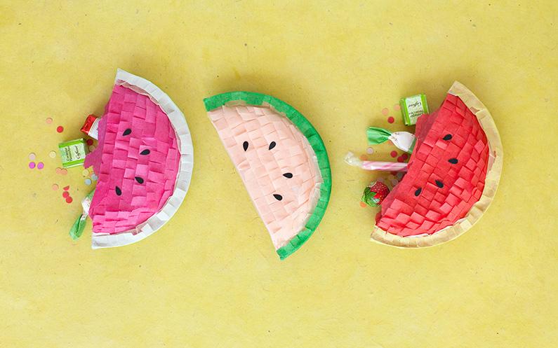 Une pinata pastèque à faire soi même pour l'été