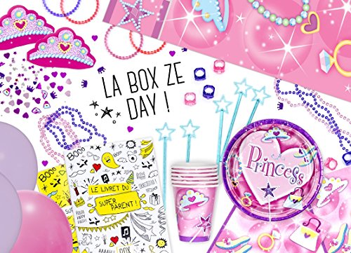 Box Ze Day Princesse, la box anniversaire fille clé en main