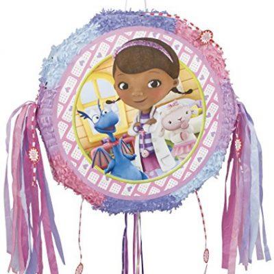 Pinata Docteur La Peluche pour un anniversaire de fille de 4 ans