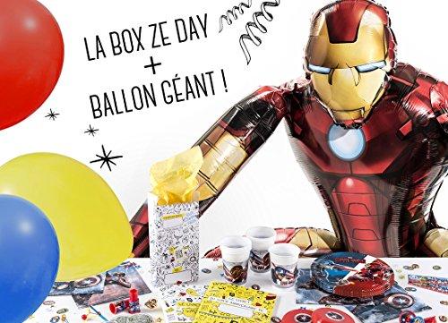 La Box Ze Day Avengers, le super kit anniversaire pour garçon