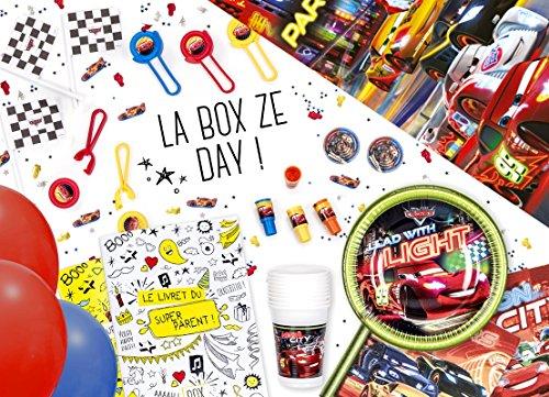 La Box Ze Day Cars, kit anniversaire clé en mains, anniversaire garçon