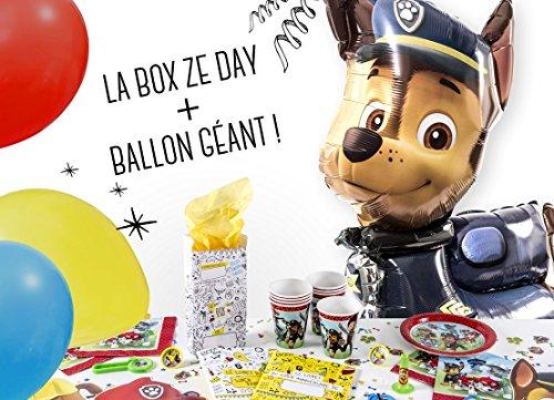 La Box Ze Day Pat Patrouille, kit anniversaire garçon