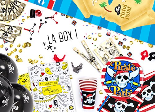 La Box Ze Day Pirates, le super kit anniversaire pirates clé en mains