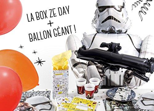 La Box Ze Day Star Wars, ballon géant Strormtrooper, anniversaire garçon