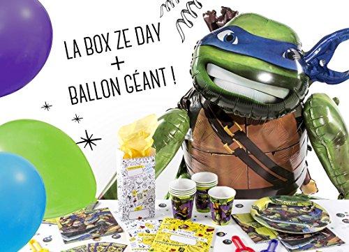 La Box Ze Day Tortue Ninja, kit anniversaire garçon