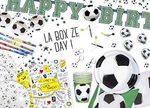 La Box Ze Day Foot, kit anniversaire foot pour garçons