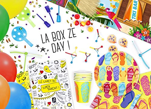 La Box Ze Day Hawaï, kit anniversaire hawai