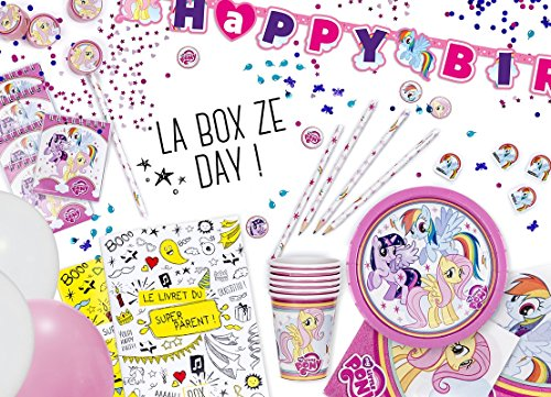 La Box Ze Day My Little Pony, kit anniversaire clé en mains
