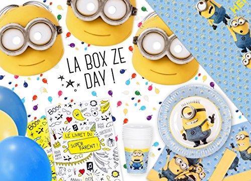 La Box Ze Day Les Minions, kit anniversaire minions clé en mains