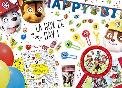 La Box Ze Day anniversaire Pat Patrouille, anniversaire enfant 5 ans