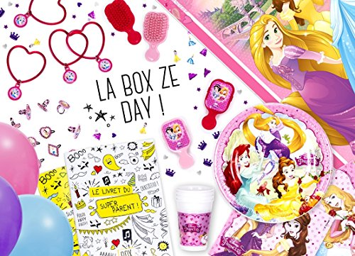La Box Ze Day avec accessoires Princesses Disney, anniversaire fille