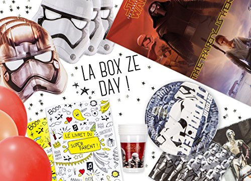 La Box Ze Day Star Wars, kit anniversaire Star Wars clé en mains