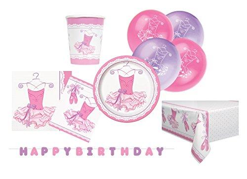 Kit anniversaire danseuse, ballerine et tutu rose, anniversaire fille
