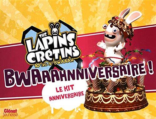 Kit anniversaire les Lapins crétins, le kit d'activités pour anniversaire enfant