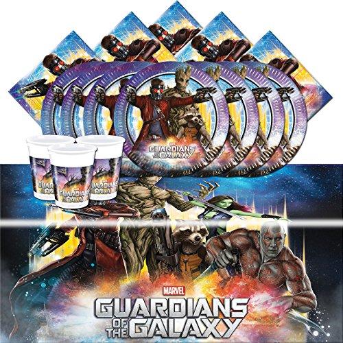 Kit anniversaire Les Gardiens de la Galaxie pour 8 personnes