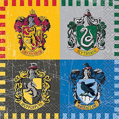 Serviettes en papier Harry Potter, serviettes jetables pour anniversaire