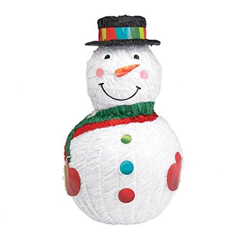 Pinata Bonhomme de Neige pour fêter un anniversaire en hiver