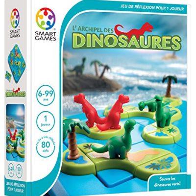 Smartgames - L'archipel des dinosaures - jeu de réflexion pour enfant
