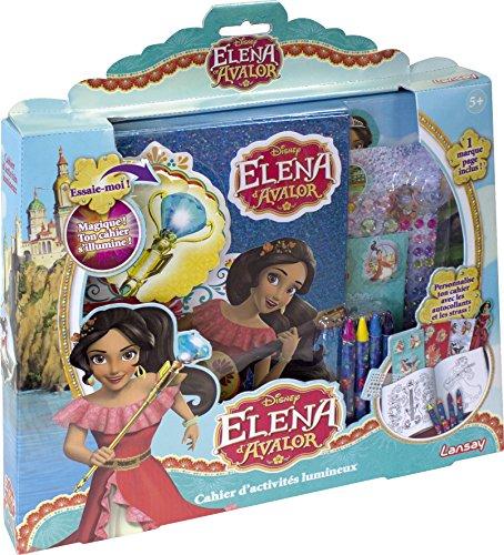 Elena d'Avalor - Cahier d'activités lumineux - cadeau d'anniversaire fille