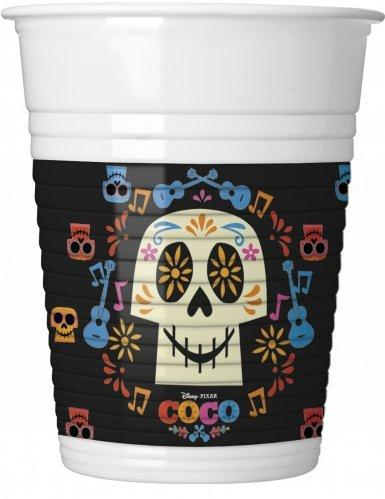 8 gobelets Coco Disney pour goûter d'anniversaire enfant