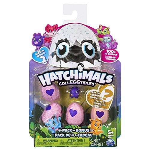 Hatchimals Collegtibles 4 Pack, idée cadeau d'anniversaire pour fille