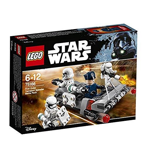 LEGO Star Wars - Speeder de transport du Premier Ordre, idée cadeau
