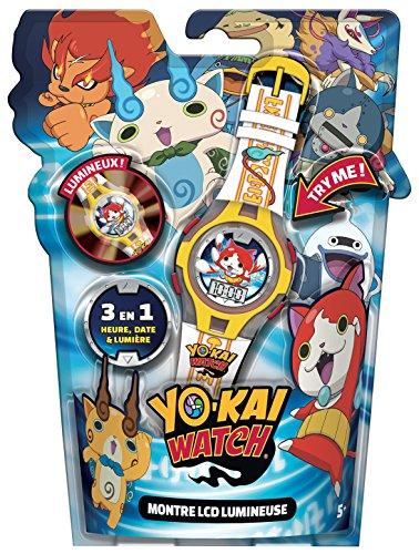 Yo Kai Watch - Montre LCD Lumineuse, idée cadeau d'anniversaire garçon