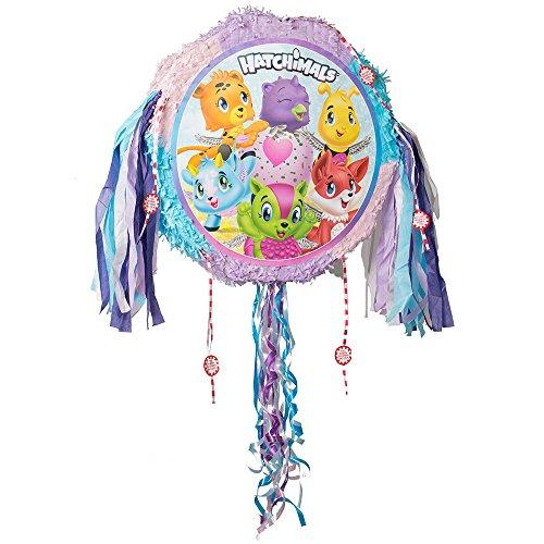 Piñata Hatchimals à tirer, pinata pour anniversaire de filles